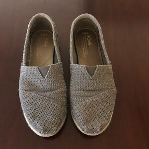 TOMS Perforated Shoes Size 6 1/2